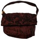 Großhandel Handtaschen: Schultertasche, 30 x 28 cm, Farbe: braun