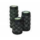 Bamboo Candle Set of 3, 16, 21 and 25cm