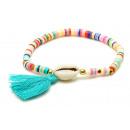 grossiste Bijoux & Montres: Bracelet, coquillage, coloré