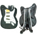 wholesale Backpacks: Guitar Bag / Backpack black / white