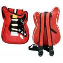 Guitar Bag / Backpack red / black