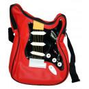 Großhandel Musikinstrumente: Gitarrentasche, rot/schwarz