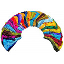Hair band, viscose, assorted colors