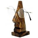 Brillenhalter aus Shisham Holz, Höhe: 15 cm