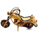 Motorcycle Wooden, Length: 30 cm