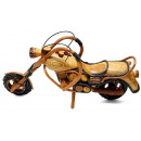 Motorcycle Wooden, length: 55 cm
