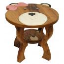 wholesale Children's Furniture: Children's table Teddy mit Schleife , height: