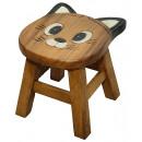 wholesale Children's Furniture: Children's stool cat , height: 25 cm, Ø: ...