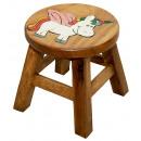 wholesale Children's Furniture: Children's stool Unicorn , height: 25 cm, Ø: