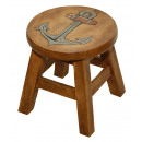 wholesale Children's Furniture: Children's Anchor stool, height: 25 cm, Ø: 2