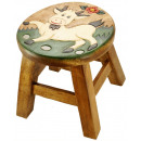 wholesale Children's Furniture: Kids stool Goat on meadow , height: 25 cm, Ø 25