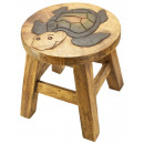 wholesale Children's Furniture: Kids stool turtle Height: 26 cm, Ø 25 cm