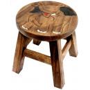 wholesale Children's Furniture: Kids stool Elephant Height: 26 cm, Ø 25 cm