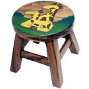 wholesale Children's Furniture: Kids stool Giraffe , height: 25 cm, Ø 25 cm