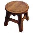 wholesale Children's Furniture: Stools, nature, height: 25 cm, Ø 25 cm