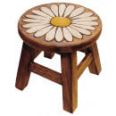 wholesale Children's Furniture: Kids stool daisy , height: 25 cm, Ø 25 cm