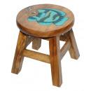 wholesale Children's Furniture: Kids stool fish , height: 26 cm, Ø 25 cm