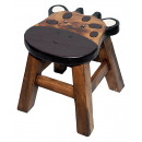 wholesale Children's Furniture: Kids stool cow , height: 25 cm, Ø: 25 cm