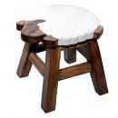 Kinderhocker Schaf , Höhe: 26 cm, Ø 25 cm