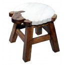 wholesale Children's Furniture: Kids stool sheep , height: 26 cm, Ø 25 cm