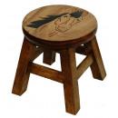 wholesale Children's Furniture: Stools horse , height: 25 cm, Ø 25 cm