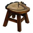 wholesale Children's Furniture: Stools Horse Head , H: 25 cm, Ø. ca 25 cm