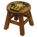 wholesale Children's Furniture: Stools Baby Giraffe , height: 25 cm, Ø 25 cm