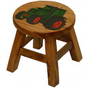 wholesale Small Furniture: Stool Tractor , height: 25 cm, Ø: 25 cm