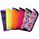 Case for reading aid, trendy colors assorted,