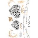 grossiste Piercing / Tatouage: Autocollant de tatouage Love ou petite, temporai