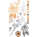 wholesale Piercing / Tattoo: Tattoo Sticker flowers or small, temporary