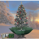 wholesale Light Garlands: Snowing Christmas tree green