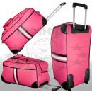 groothandel Koffers & trolleys: Amsterdam trolley tas roze