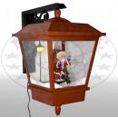 grossiste Lanternes et lanternes: Neigeait LED mur rouge lanterne