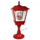 Snowing LED table lamp 65cm motif Santa