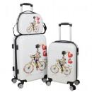groothandel Koffers & trolleys: Polycarbonaat  Travel Set 3Pcs Martinique