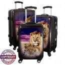 Polycarbonat-Kofferset 3tlg Löwe