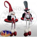 Pinguin 35cm Kantenhocker - Weihnachtsdeko