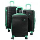 ABS-Kofferset 3tlg Santorin türkis