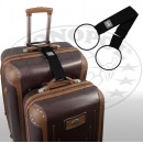 Großhandel Reise- und Sporttaschen: Trageschlaufe für Koffer und Taschen schwarz
