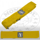 Luggage strap with velcro yellow