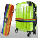 wholesale Travel Accessories: Luggage strap with velcro colorful
