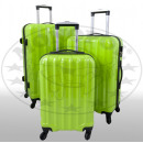 Polycarbonat-Kofferset 3tlg Miami grün