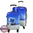 wholesale Garden Furniture: Polycarbonate  luggage 2tlg beach chair