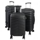 ABS-Kofferset 3tlg Bora schwarz