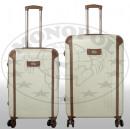 ABS-Kofferset 2tlg Dakar weiß