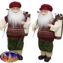 Weihnachtsmann Ville 45cm - Weihnachtsdeko