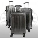 Polycarbonat-Kofferset 3tlg Mauritius II anthrazit
