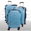Polycarbonat-Kofferset 3tlg Mauritius II hellblau