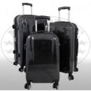 Großhandel Koffer & Trolleys: Polycarbonat  Kofferset 3tlg Wellington anthrazit